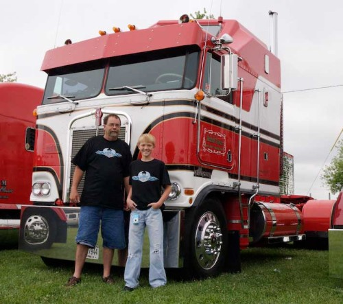 Steve and Austin in front of the Aerodyne
