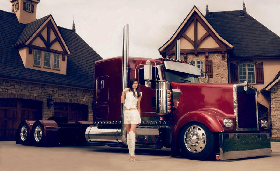 4 state trucks chrome shop mafia 2013 calendar roger for Bj custom designs
