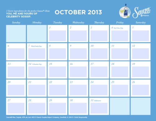 Sauza Calendar 10