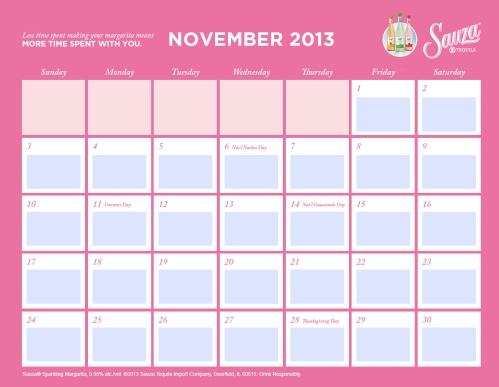 Sauza Calendar 5